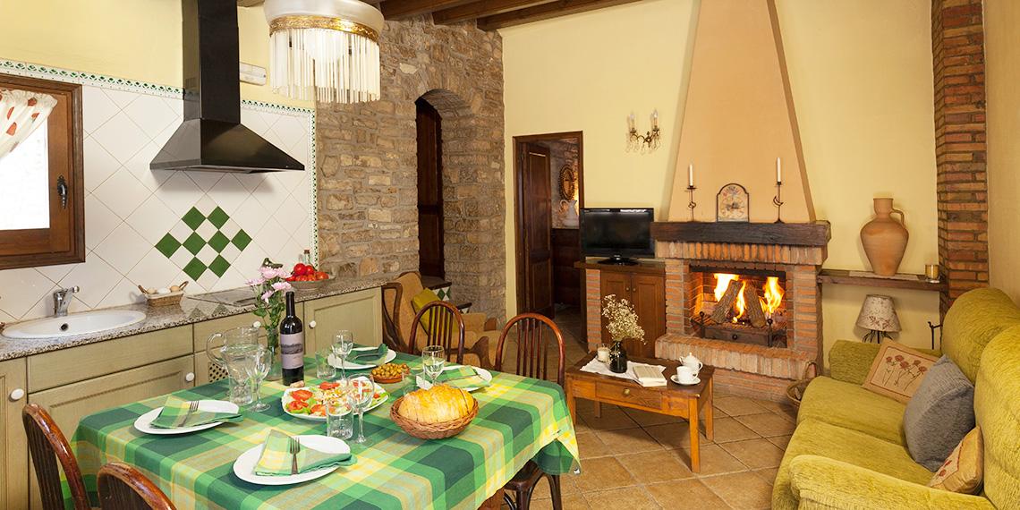Country cottages: La Cort